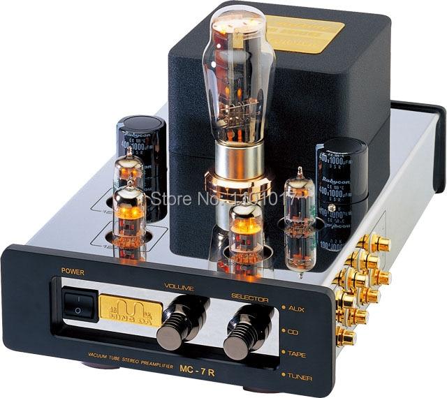 MeiXing MingDa MC-7R Tube pre-amplifier HIFI EXQUIS  psvane 274B rectifier lamp  preamp MC7R