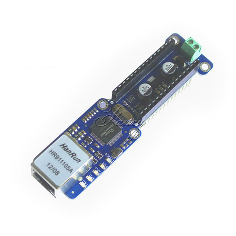 NANO W5100 Ethernet Shield Network Expansion Board for Arduino Nano V3.0 TOP