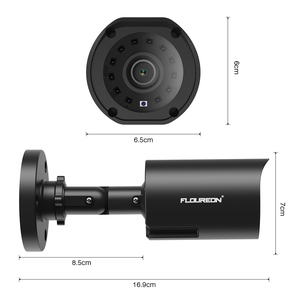 Image 5 - FLOUREON 1080P HD 3000TVL Outdoor Security System Camera 2MP 940nm Night Vision CCTV Surveillance PAL Bullet Camera for AHD DVR