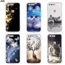 "Soft TPU Case for Huawei Honor 8 FRD-L19 FRD-L14 5.2"" Silicone Back Phone Cover for Huawei Honor8 Back Covers Fundas Shell Coque(China)"
