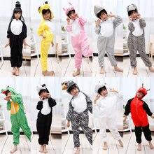c129d6914e I bambini Animal Costume Cosplay Dinosauro Tigre Elefante di Halloween  Animali Costumi di Prestazioni Tuta per il Ragazzo Della .