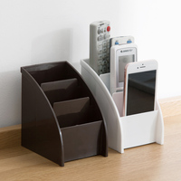 Multi Storage Box Cosmetic Finishing shelf Desktop Remote Control Stationery Table Rack