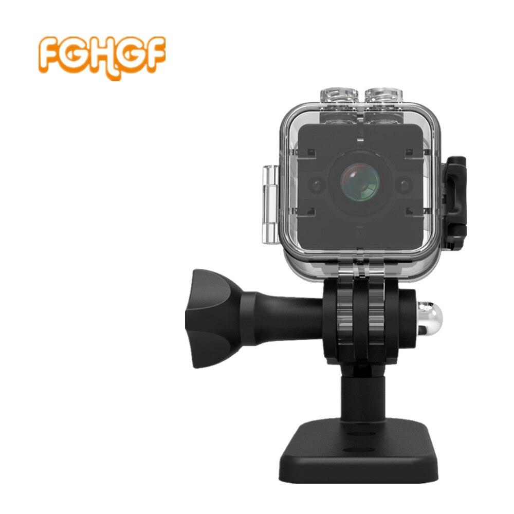SQ12 Date Full HD 1080 P Mini DV DVR Caméra Caméscope Étanche En Plein Air DV IR de Vision Nocturne Vidéo enregistreur PK SQ 11 SQ12 SQ 8