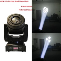 2017 Newest 60W LED Moving Head Light DMX DJ Disco Party Wedding Stage Effect Lighting