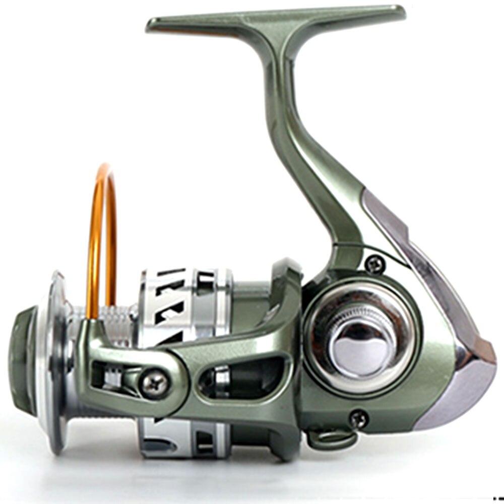 12 + 1BB 5.2: 1 / 4.7: 1 Tam Metal Xətt Kuboku Rocker Arm Spinning - Balıqçılıq - Fotoqrafiya 4