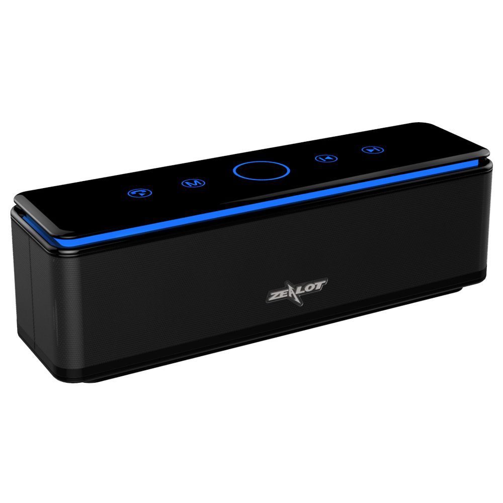 S7 Portable sans fil Bluetooth haut parleur contrôle tactile 3D stéréo haut parleurs Subwoofer 4 pilotes Audio MP3 lecteur barre de son-in Portable Haut-parleurs from Electronique    1