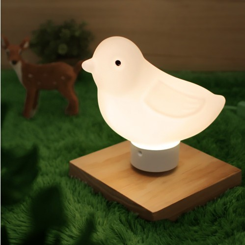 cute warm white LED light adjusted led reading light night light Bedside lamp for bedroom reading light wood&glass 5w table lamp