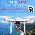 Профессия Дроны Quadcopter MJX X101 2.4 г 6-осевой Rc Беспилотный Вертолет с однажды можете Добавить C4018 FPV Wi-Fi Камера Hd Против X8c X8G