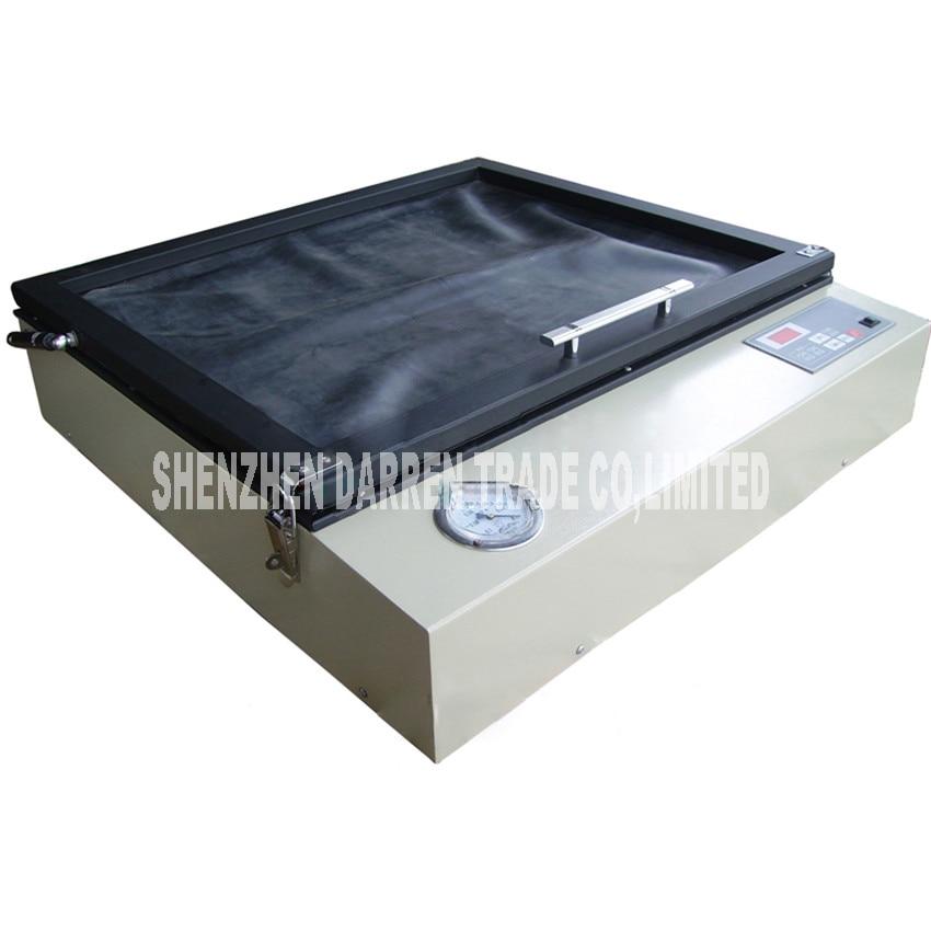 все цены на Vacuum printer flat panel display screen printing machine Vacuum exposure to UV exposure equipment units biggest screen 46*56cm онлайн