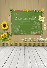 Background For Photo Studio 5x7ft Photography Children Theme Background Sunflower Flowers New Design Digital Backdrops Props