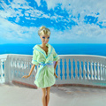 E-TING Fashion Doll Toweling Bath Robe Spa Clothes SleepWear Dress Gown For Barbie Dolls Accessories
