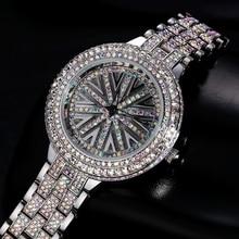 Xinge marque femmes diamant bracelet montres en acier inoxydable avec 3a zircon femmes robe de luxe montre-bracelet 30 m étanche horloge