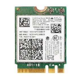 Wifi Card FoDual Band Wireless-AC 7260 7260NGW 7260AC 04W3806 04W6059 04W3844 NGFF BT4.0+867M Wlan Card For IBM T440 T440S X240S