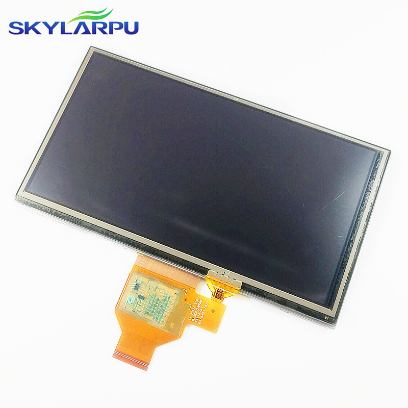 skylarpu 6.1 inch A061VTT01.0 LCD screen for GARMIN Nuvi 66 66LM 66LMT GPS LCD display Screen with Touch screen digitizer skylarpu new for garmin etrex h etrexh handheld gps navigator lcd display screen panel free shipping