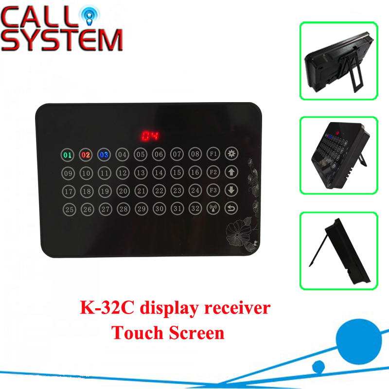 Electronic number calling monitor K 32C show 32 groups numbers one time
