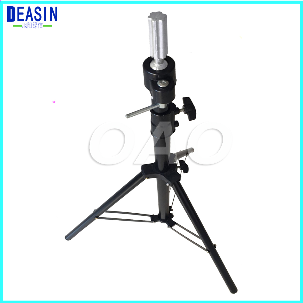 Adjustable Tripod Stand Practice Hair Training Mannequin Head Holder Clamp Showed Prop Pro Salon Styling Accessories steel mannequin tripod stand hair salon adjustable tripod wig stand hairdressing training head clamp holder