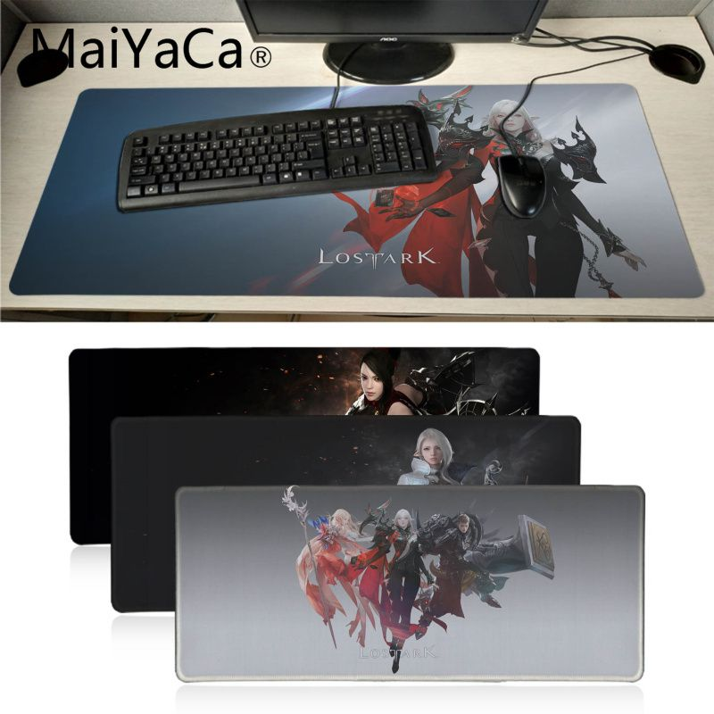Maiyaca LOST ARK Office Mice Gamer Soft Mouse Pad Gaming Mouse Pad Xl Speed Keyboard Mouse Mat Laptop PC Notebook Desk Pad