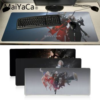 Maiyaca LOST ARK Office Mice Gamer Soft Mouse Pad gaming mouse pad xl Speed Keyboard Mouse mat Laptop PC notebook desk pad худи print bar lost ark