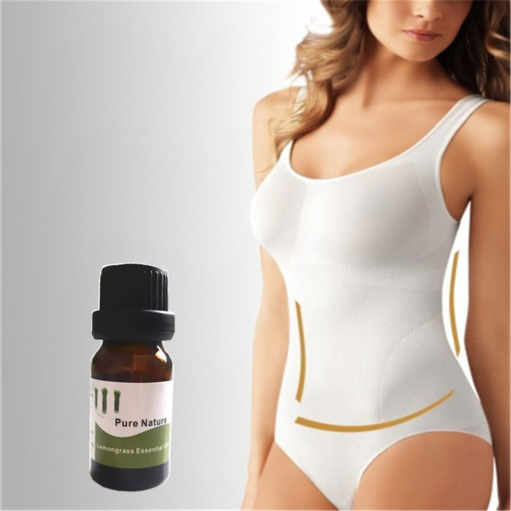 10ml Lemongrass Fat Burning Essential oil Slimming Body Cream Burn Fat Lose Weight Fast Slimming Body Creams for weight loss