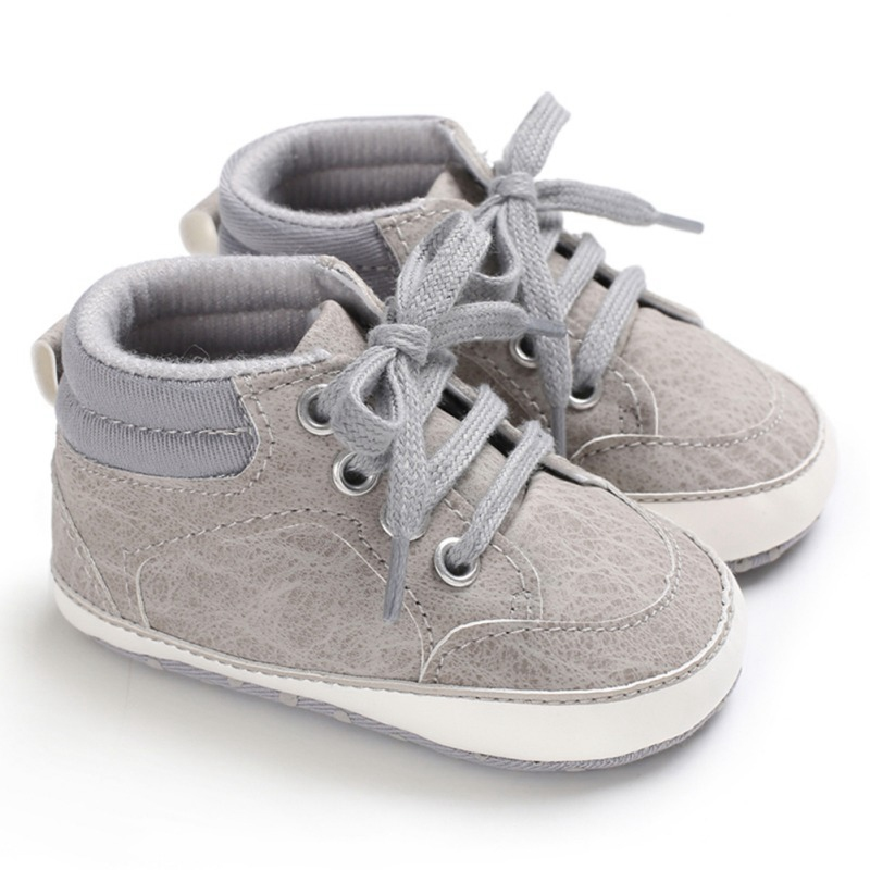Smart Newborn Baby Shoes Girls First Walkers Infant Toddler Soft Bottom Shallow Elastic Band Prewalker Tq First Walkers Baby Shoes