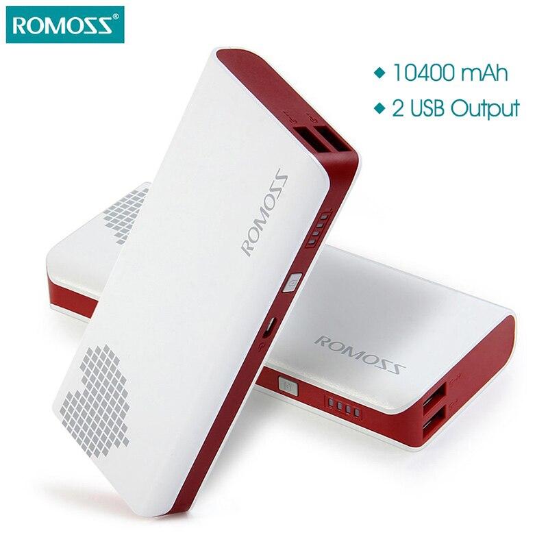 imágenes para 10400 mAh ROMOSS Sense 4 Banco de la Energía de Carga Rápida Cargador de Baterías Externas Portátil Para el iphone Samsung Android Tablet