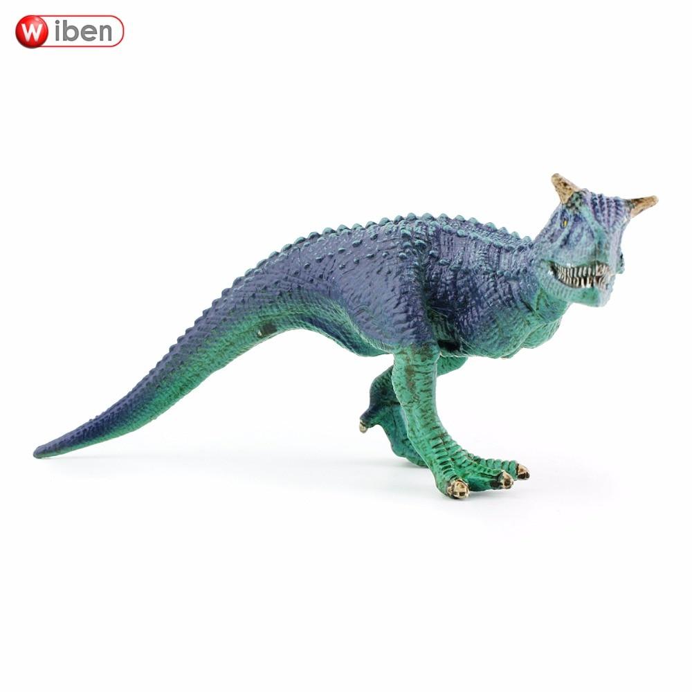 Wiben Jurassic Carnotaurus Dinosaur Action & Leksaksfigurer Animal - Toy figuriner