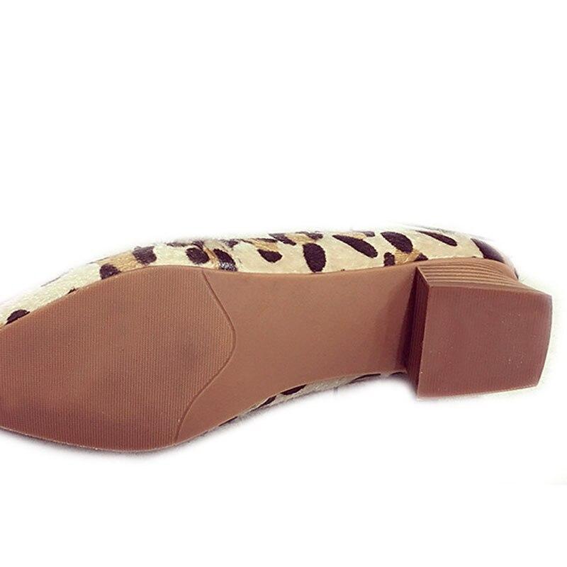 Scarpe Donna Donne Modo Nero Pompe Delle Yx2629 Leopard Squre 4 Leopardo Marca Tacco Cm A Tacchi Punta Sexy Alto il Di Signore Spessore Da pAgWwvq8