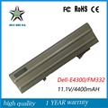 6cells 11.1V 60Wh New High Quality  Laptop Battery for Dell E4300 FM332 XX327 CP294 FM338 8R135
