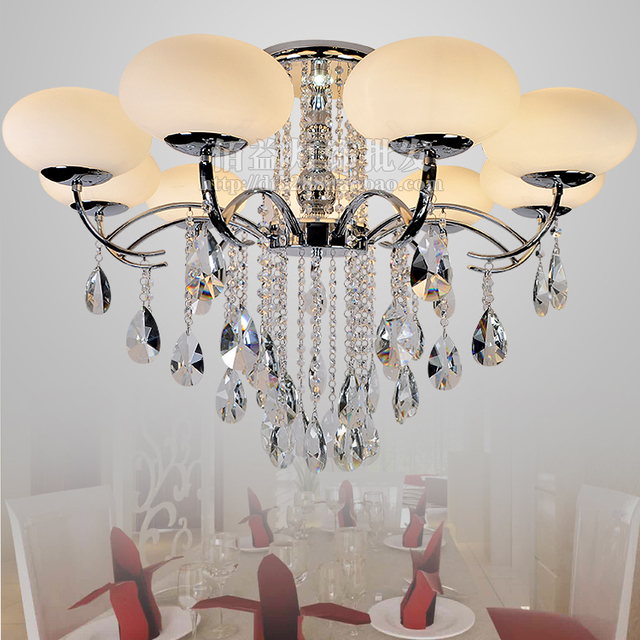 Crystal Chandelier Branch Chandelier Lighting K9 Crystal Lustre Led Bulbs Modern Chandeliers