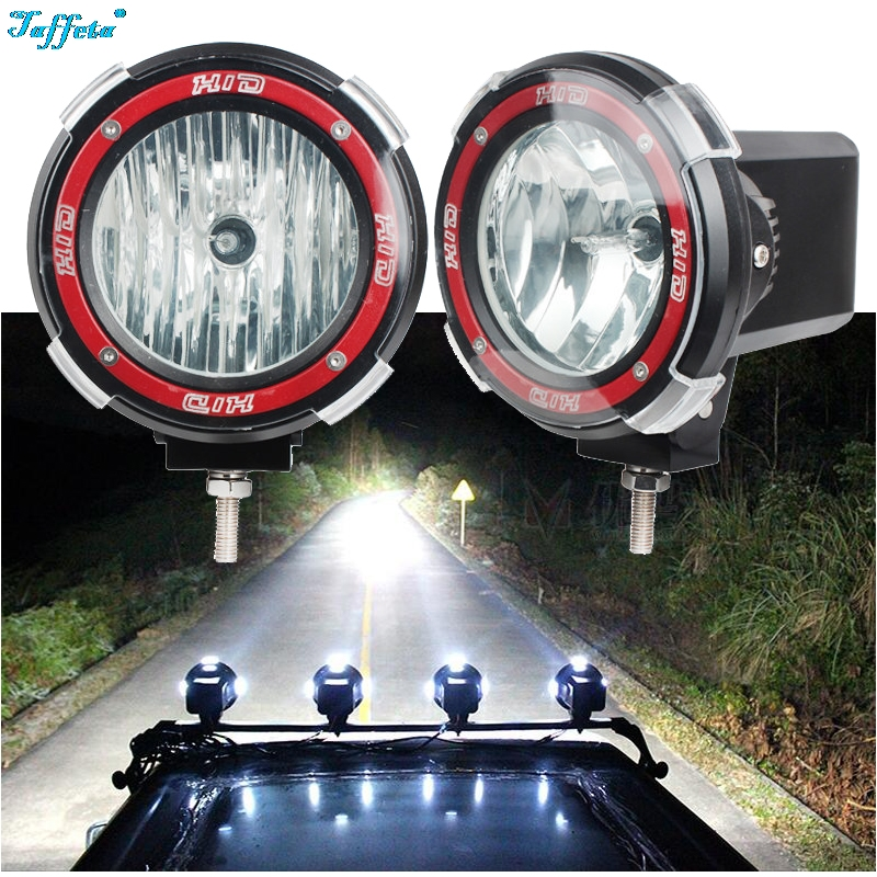 1PCS 4 7 9 inch 35W 12V DHS HID XEnon Driving Work Fog Light Spotlight Off Road With Lens Cover1PCS 4 7 9 inch 35W 12V DHS HID XEnon Driving Work Fog Light Spotlight Off Road With Lens Cover