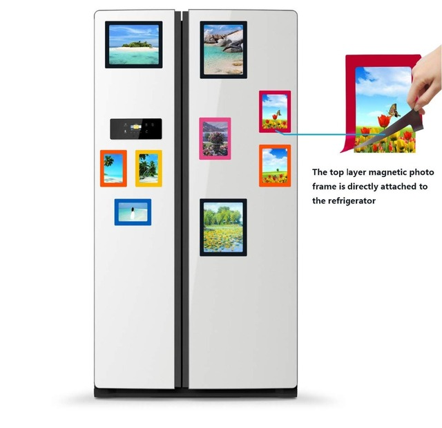 Multicolor Photo Frames Ideas Magnetic whiteboard Composite Family ...