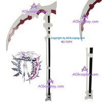 White Rock Shooter Cosplay Scythe cosplay prop can be disassembled ACGcosplay PVC made