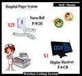 Equipamentos hospitalares Hospital Chamando Sistema Com Botão de Chamada de Enfermeira Buzzer E Display Mostrando Números