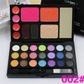 21 Cores Da Sombra Da Sombra de Olho Conjunto Kit Paleta de Maquiagem Caixa de Maquiagem Profissional