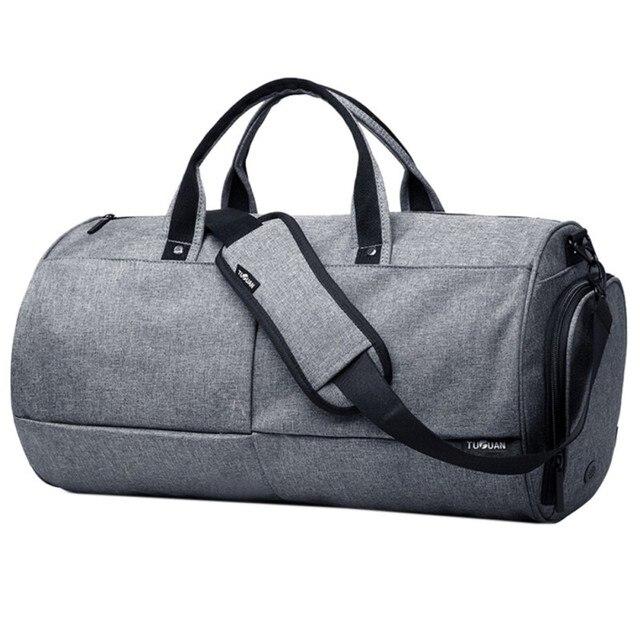 7110d93cf5 Waterproof Travel Bag Large Capacity Men Hand Luggage Travel Duffle Bags  Weekend Bags Women Multifunctional Travel