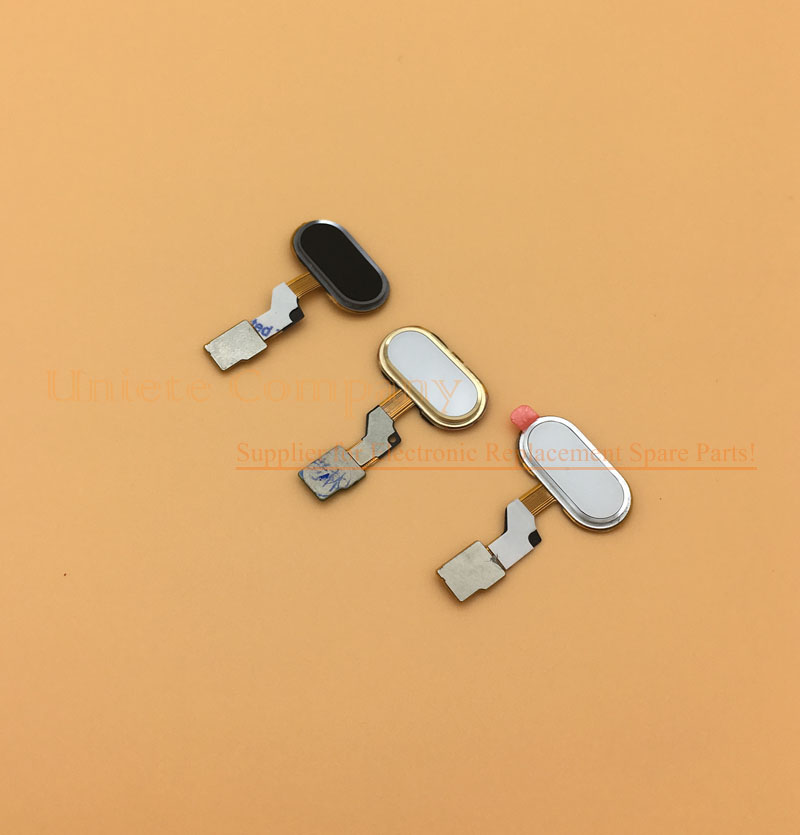 Meizu M3S mini Home Button MEIZU M3S FingerPrint Flex Cable Ribbon Replacement Parts Black / White / Gold MEIZU M3S mini Button