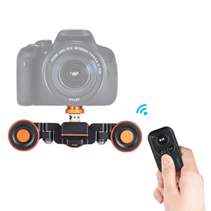 Image 2 - Andoer L4 פרו אלחוטי שלט רחוק מיני סקטים Slider עבור מצלמה ממונע מצלמה וידאו דולי מסלול חשמלי מחוון