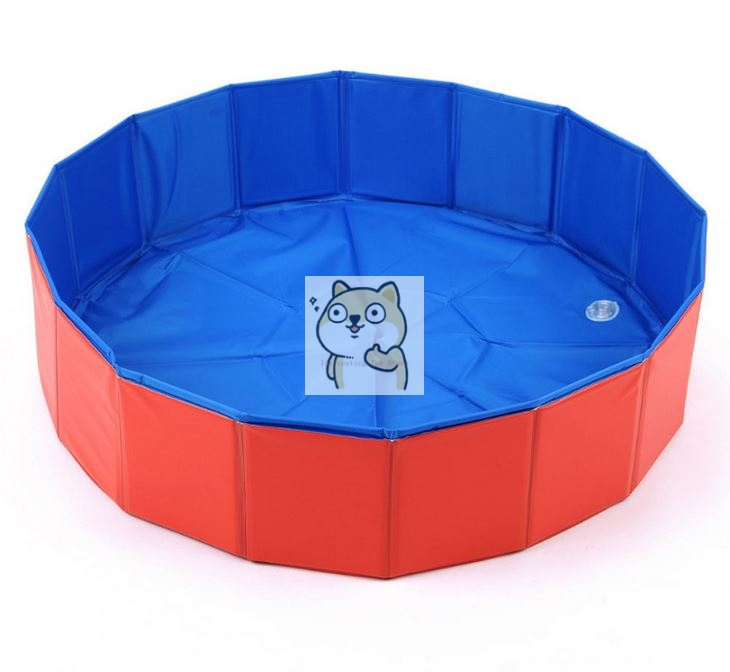 80*20CM bath net red section thick folding play water bath folding <font><b>pool</b></font> wholesale, <font><b>baby</b></font> <font><b>pool</b></font>, bath image