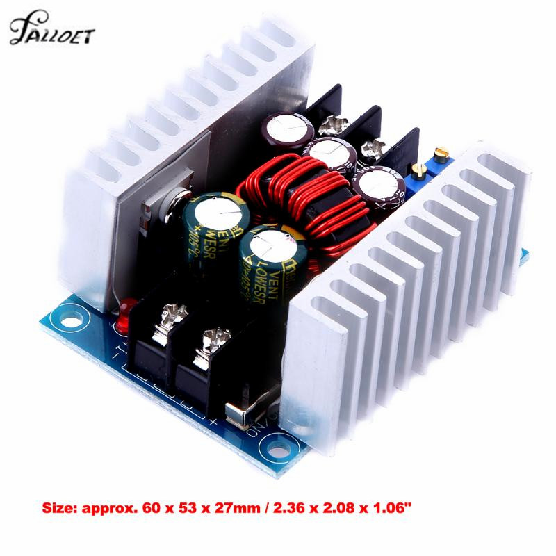 DC-DC 300W 20A Constant Current Step Down Converter Voltage 1.2V-36V DC Buck Adapter Adjustable Power Supply