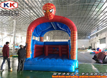 Outdoor Inflatable Spider Guy Moonwalk Trampoline Bouncer