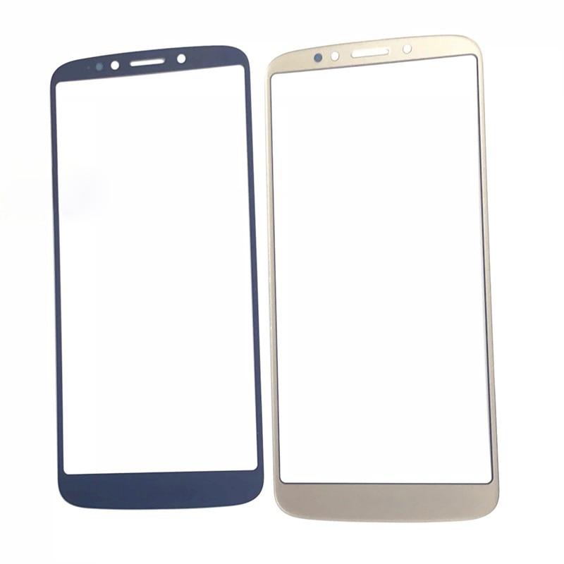 Передняя Экран наружное стекло объектива для Motorola Moto E5 плюс XT1924 Сенсорный экран