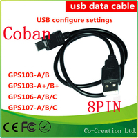 GPS Tracker Accessories USB Data Cable Coban GPS Tracker Tk103A B Tk103a Tk103b Tk106 Tk107a B