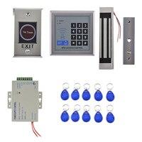 MagiDeal 1 Set Electric Door Lock Kit Security Access Control Door Password System