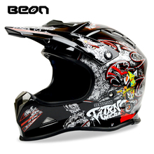 BEON brand motorcycle off road helmet motocross racing helmets cross dirt bike downhill ATV capacete casco MX-16 ECE MOTO helmet