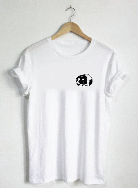 d1974756 Guinea Pig - Shirt Tshirt Pet Cage Cute Animal Gerbal Hamster Shirt Tee  Rodent Rat Toy