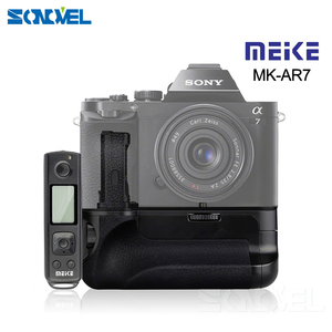 Image 1 - Meike MK AR7 2.4G Wireless Remote System Vertical Battery Grip hand pack for Sony A7/A7R/A7S NP FW50 as VG C1EM
