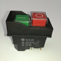 Waterproof Magnetic Explosion Proof Pushbutton Switch Kld 28 5E4 IP65 220v Magnetic Starter Electromagnetic Switches