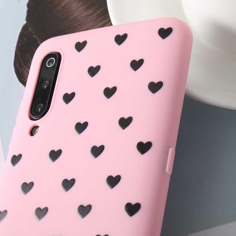 カップルの愛のハートケース Xiaomi Redmi 注 4 4 × 5 5A 6 7 プロ 3 S 4A 6A y2 S2 プラス行く A2 Lite ケースフルカバー
