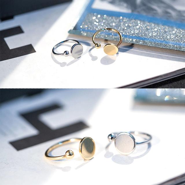 Open Circle Ring