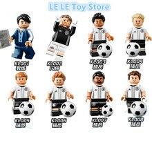8pcs Lot KL9001 German Football Team Full Set of Collectible Toni Kroos Max Kruse Mario Gotze